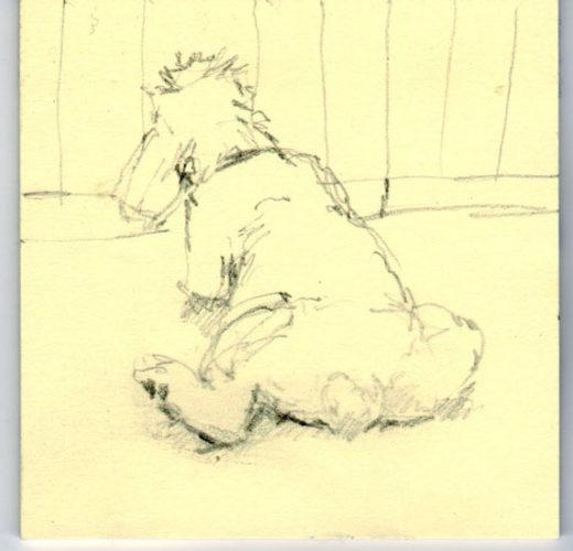 Jules le chien, déssiné par Cléo